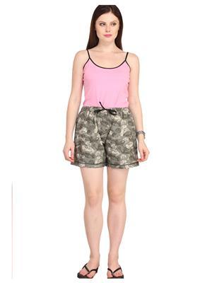 Lenora LN3015 Multicolored Women Short