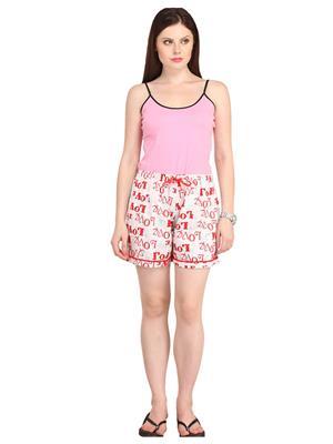 Lenora LN3016 Multicolored Women Short
