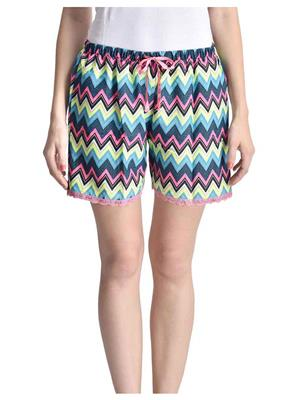 Lenora LN3018 Multicolored Women Short