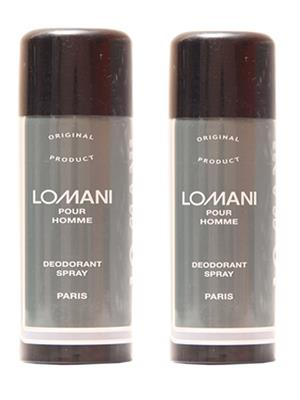 Lomani 57 Homme Deodorant Set of 2