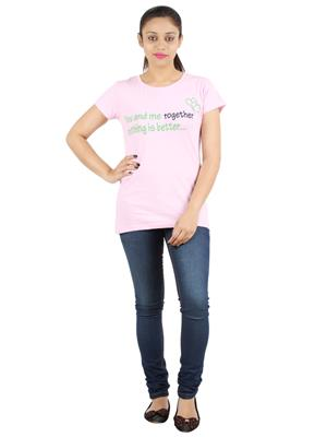 Ymfonline LOVE TEE-PINK Women T-Shirt