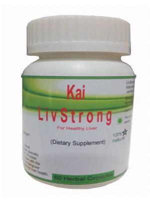 Hawaiian-Herbal Lsc72 Liv Strong Capsule Ayurvedic & Organic