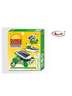 Annie Lw-An001 6 * 1 Educational Hybrid Solar  Energy Kit Series 1