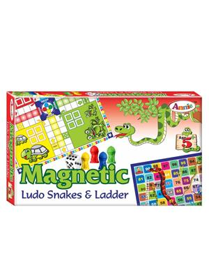 Annie Lw-An023 Magnetic Ludo Snakes & Ladder