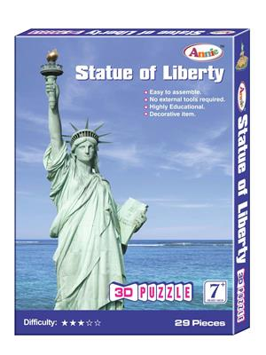 Annie Lw-An041 Statue Of Liberty