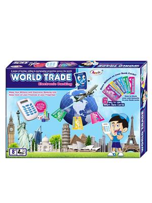 Annie Lw-An054 World Trade Electronic Banking Unit Board Game