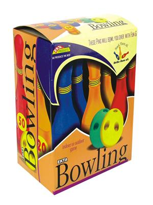 Ekta Lw-Et006 Multicoloured Bowling Set Senior Fun Game