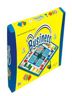 Ekta Lw-Et007 Multicoloured Business India Board Game