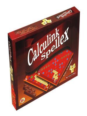 Ekta Lw-Et008 Multicoloured Calculink Spellex Board Game