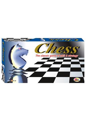 Ekta Lw-Et009 Multicoloured Chess Jr. Board Game
