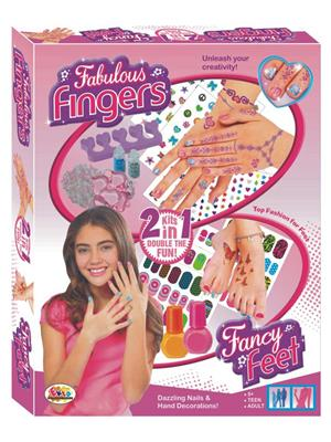 Ekta Lw-Et022 Multicoloured Fabulous Finger Fancy Feet Game