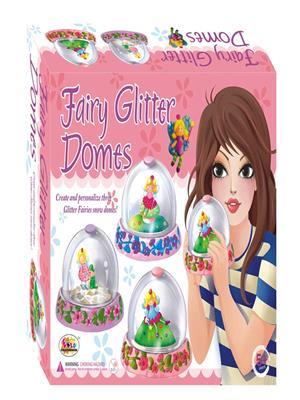 Ekta Lw-Et023 Multicoloured Fairy Glitter Domes Fun Game