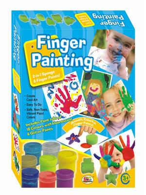 Ekta Lw-Et028 Multicoloured Finger Painting Fun Game