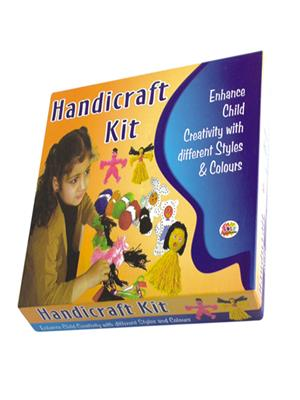Ekta Lw-Et033 Multicoloured Handicraft Kit Fun Game