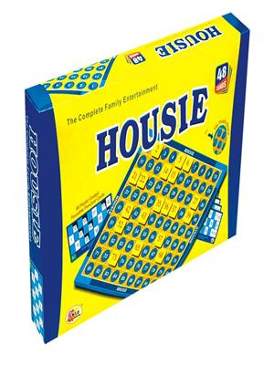 Ekta Lw-Et034 Multicoloured Housie Deluxe Board Game