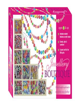 Ekta Lw-Et036 Multicoloured Jewellery Boutique Fun Game