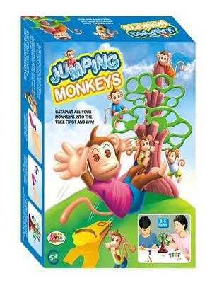 Ekta Lw-Et037 Multicoloured Jumpingmonkeys Big Board Game