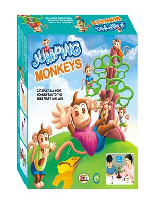 Ekta Lw-Et038 Multicoloured Jumpingmonkeysjr Board Game