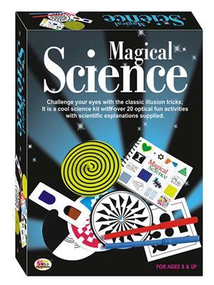 Ekta Lw-Et040 Multicoloured Magical Science Fun Game