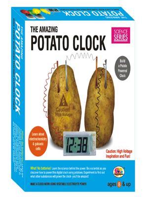 Ekta Lw-Et047 Multicoloured The Amazing Potato Clock