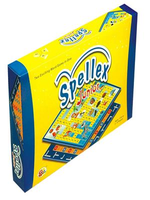 Ekta Lw-Et050 Multicoloured Spellexjr Board Game