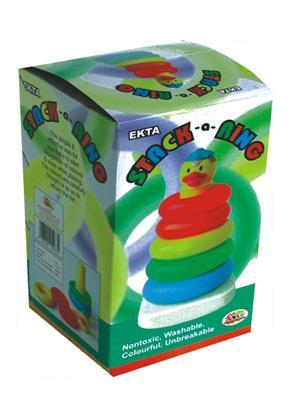 Ekta Lw-Et051 Multicoloured Stack A Ring Jr Preschool Game