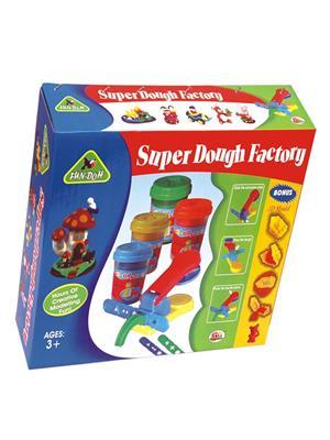 Ekta Lw-Et053 Multicoloured Super Dough Factory. Fun Game