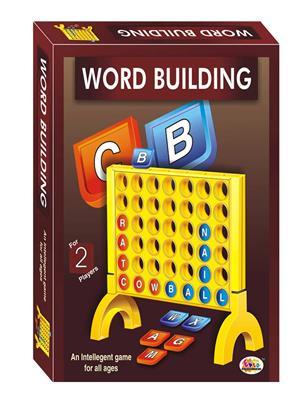 Ekta Lw-Et060 Multicoloured Word Building Board Game Family Game