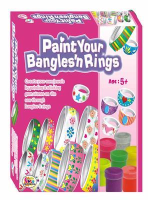 Ekta Lw-Et065 Multicoloured Paint Your Bangles Rings