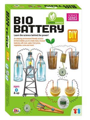 Ekta Lw-Et067 Multicoloured Bio Battery