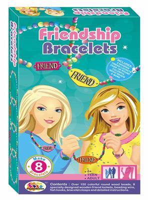 Ekta Lw-Et070 Multicoloured Friendship Bracelets