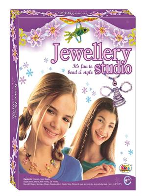 Ekta Lw-Et078 Multicoloured Jewellery Studio Fun Game