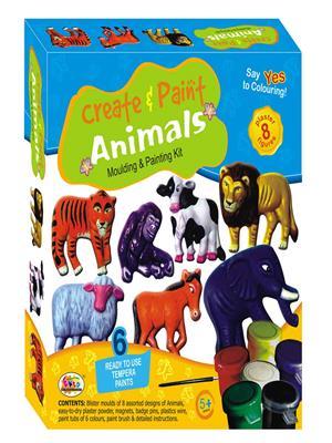 Ekta Lw-Et084 Multicoloured Create & Paint Animal