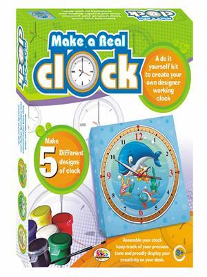 Ekta Lw-Et088 Multicoloured Make A Real Clock