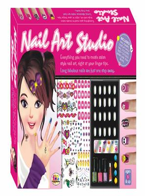 Ekta Lw-Et090 Multicoloured Nail Art Studio