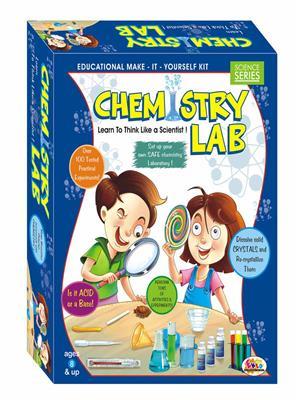 Ekta Lw-Et103 Multicoloured Chemistry Lab
