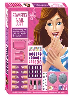 Ekta Lw-Et105 Multicoloured Stamping Nail Art