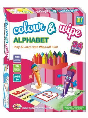 Ekta Lw-Et113 Multicoloured Colour & Wipe Alphabet