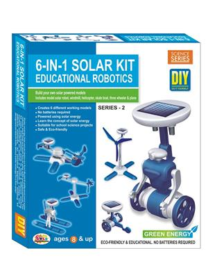 Ekta Lw-Et118 Multicoloured 6In1 Solar Kit Series-2