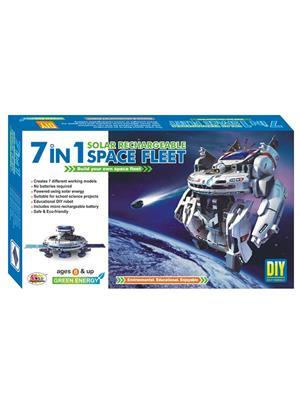 Ekta Lw-Et119 Multicoloured 7In1 Space Fleet