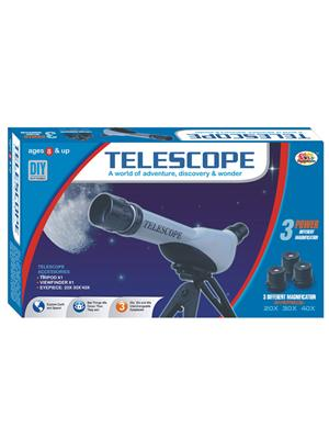 Ekta Lw-Et123 Multicoloured Telescope