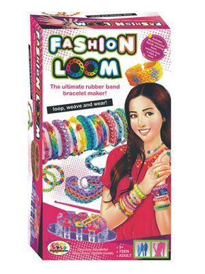 Ekta Lw-Et124 Multicoloured Fashion Loom Bands Bracelet Maker