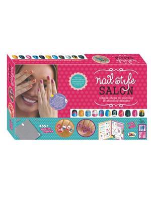 Ekta Lw-Et128 Multicoloured Nail Style Saloon