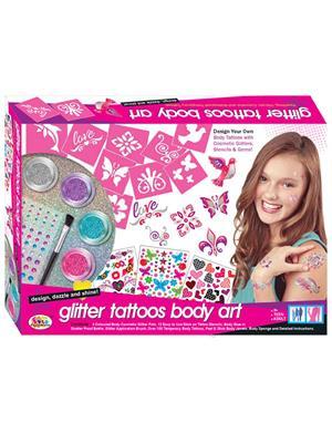 Ekta Lw-Et135 Multicoloured Glitter Tattoos Body Art