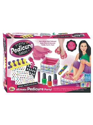 Ekta Lw-Et139 Multicoloured Pretty Pedicure Salon