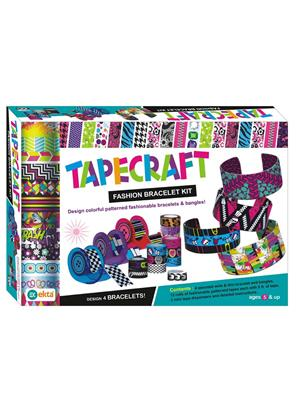 Ekta Lw-Et155 Multicoloured Tapecraft Fashion Bracelet Kit