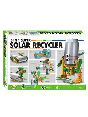 Ekta Lw-Et157 Multicoloured Super Solar Recycler 6 In 1