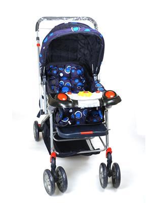 DealBindaas LW_MP010 Blue Circle Prams & Stroller