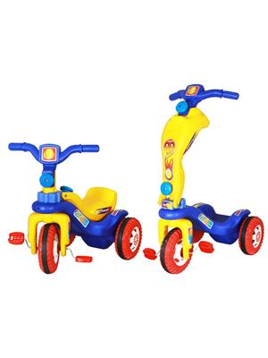 Playtool Lw-Pi010 Multicolored Cum Scooty Tricycle