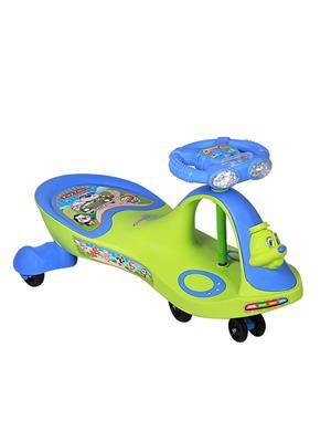 Playtool LW-PI021 Black Green Duck Swing Car Light and Music
